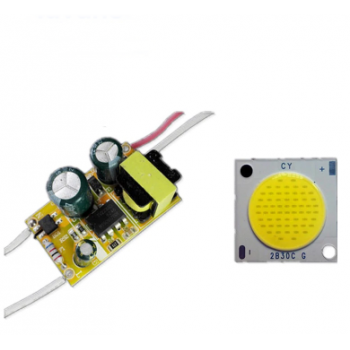 LED Driver με COB 5W Dimmable